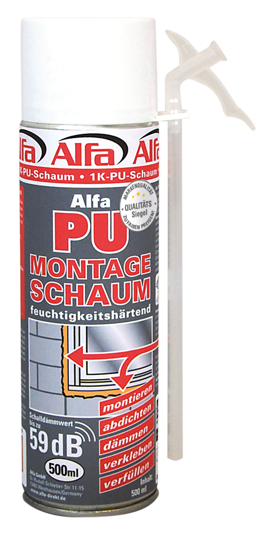 620 Alfa Montageschaum 500ml & 750ml